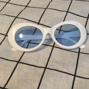 Blue clout sunglasses